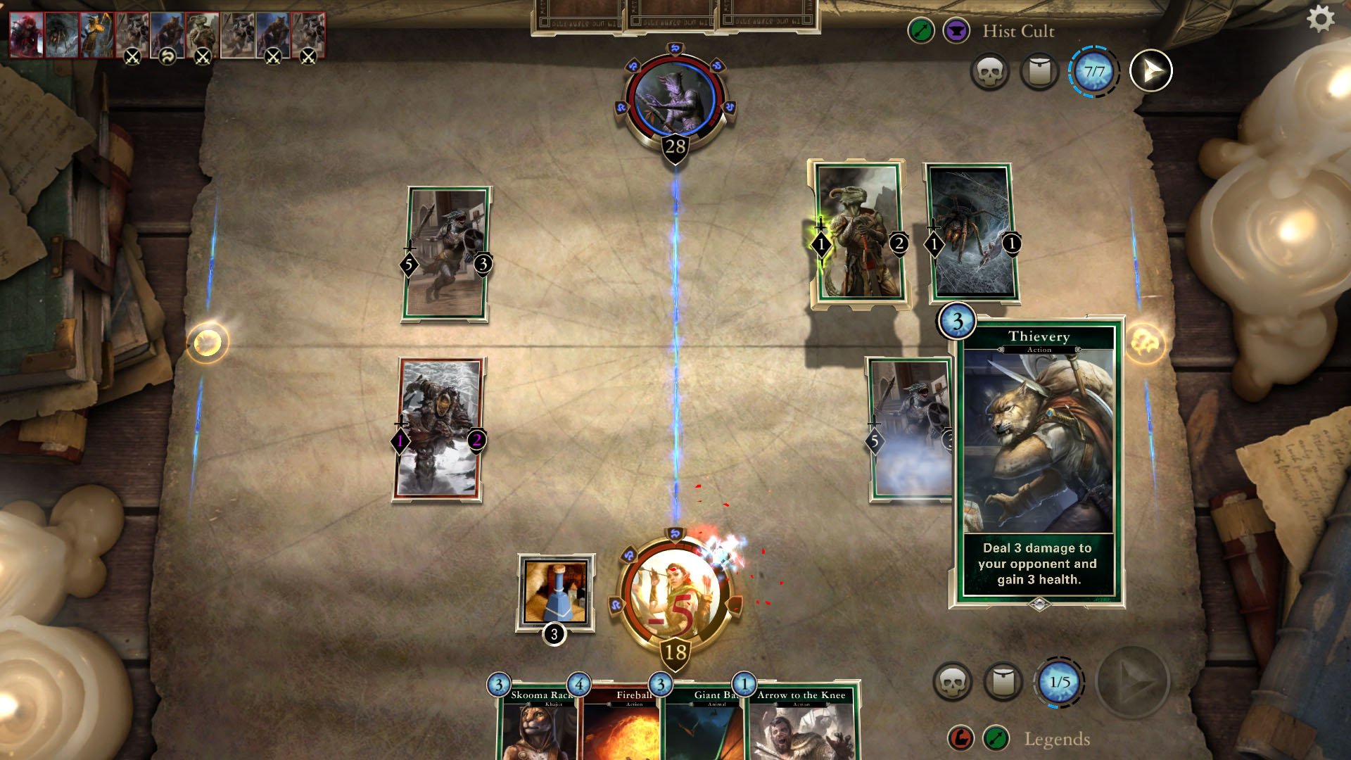 Karetní hra The Elder Scrolls: Legends