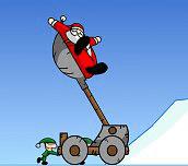 Hra - Slingshot Santa