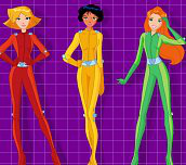 Totally spies oblíkačka