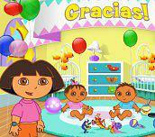 Hra - Dora hlídá děti