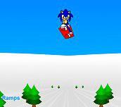 Hra - Sonic 3D Snowboarding