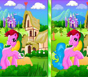 Pony Spot The Difference