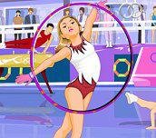 Krásná gymnastka