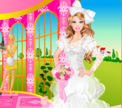 Hra - Barbie Bride Dress Up