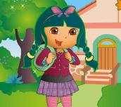 Dora jde do školy