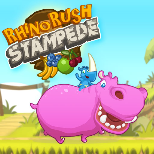 Hra - Rhino Rush Stampede