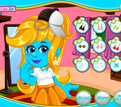 Hra - Smurfette School Style Makeover