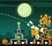 Hra - Angry Birds Halloween HD