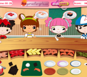 Hra - Busy Sushi Bar