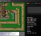 Flash Element TD Online Game