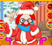 Santa Claus hair salon