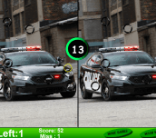 Police Car 7 Differences