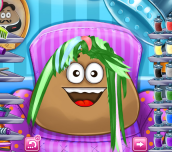 Hra - Pou Real Haircuts