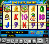 Slot super banana