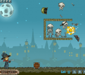 Hra - Van Helsing vs Skeletons