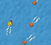 Hra - Piranha chase