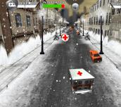 Hra - Super Ambulance Drive