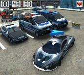 Hra - 3D Parking Police Station