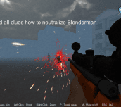 Slenderman in Zombie Apocalypse