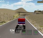 Hra - Truck Racing