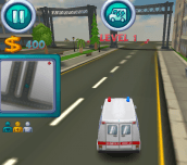 Hra - Ambulance Rush 3D