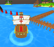 Hra - Boat Parking 3D
