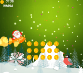 Fly Santa Christmas