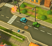 Hra - Toon 3D Delivery Dash