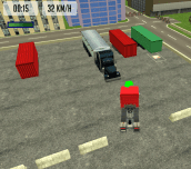 Hra - Trucker Parking 3D