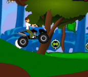 Hra - Ben 10 ATV Jungle Rush