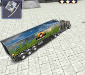 Hra - 3D Parking Thunder Truck