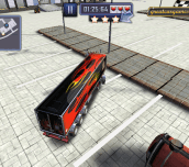 Hra - Skill 3D Parking Thunder Trucks