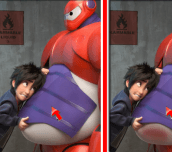 Hra - Big Hero 6 Difference