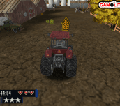 Hra - Farm Tractor Driver 3D Parking
