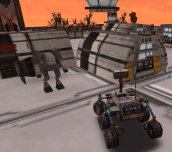 Hra - Mars Rover Extreme Parking