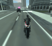 Motor Bike Vs Police