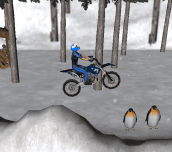 Hra - Snow Bike