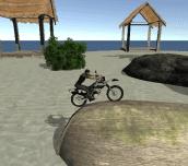 Hra - Bike Tricks Hawaii Trails