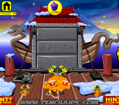 Hra - Monkey GO Happy Ninjas 3