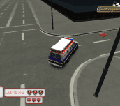 Emergency Van 3D Parking