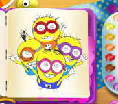 Hra - Minions Coloring Book