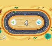 Hra - Slot Car Dodge