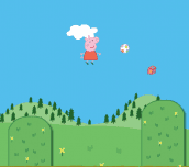 Hra - Peppa Pig Super Jump