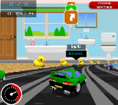 Hra - Retro Racers 3D