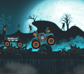 Hra - Halloween Monster Transporter