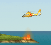 Hra - Fire Helicopter