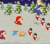 Hra - Santa's Leap