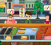 Super Burger Shop