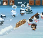 Hra - Snowball Z