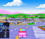 Hra - The Simpsons Road Rage